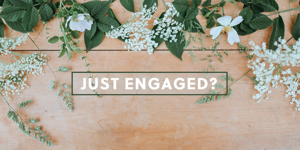 Just Engaged? Let Us Plan Your Wedding