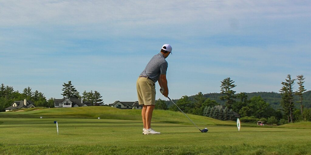 The Importance of Good Posture for Success on the Course